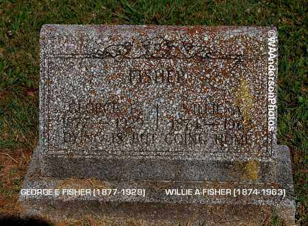 FISHER, GEORGE FRANKLIN - Gallia County, Ohio | GEORGE FRANKLIN FISHER - Ohio Gravestone Photos
