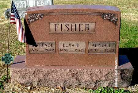 FISHER, LAWRENCE - Gallia County, Ohio | LAWRENCE FISHER - Ohio Gravestone Photos