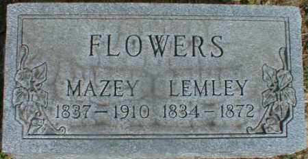 FLOWERS, LEMLEY - Gallia County, Ohio | LEMLEY FLOWERS - Ohio Gravestone Photos