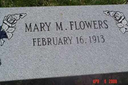 FLOWERS, MARY - Gallia County, Ohio | MARY FLOWERS - Ohio Gravestone Photos