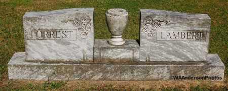 FORREST-LAMBERT, HEADSTONE - Gallia County, Ohio | HEADSTONE FORREST-LAMBERT - Ohio Gravestone Photos