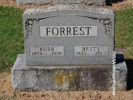 FORREST, BURR - Gallia County, Ohio | BURR FORREST - Ohio Gravestone Photos