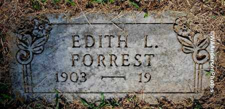 FORREST, EDITH L - Gallia County, Ohio | EDITH L FORREST - Ohio Gravestone Photos