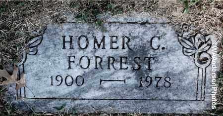 FORREST, HOMER C - Gallia County, Ohio | HOMER C FORREST - Ohio Gravestone Photos