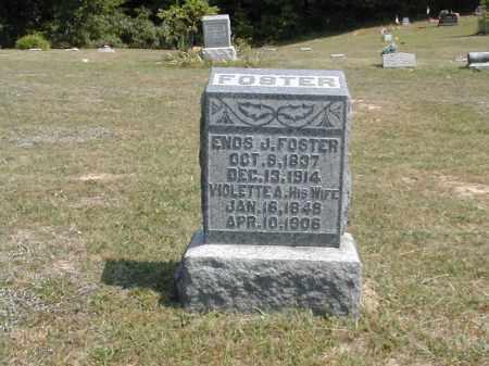 FOSTER, ENOS - Gallia County, Ohio | ENOS FOSTER - Ohio Gravestone Photos