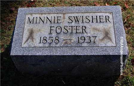 SWISHER FOSTER, MINNIE - Gallia County, Ohio | MINNIE SWISHER FOSTER - Ohio Gravestone Photos