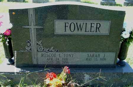 "FOWLER, ROSCOE L ""TONY"" - Gallia County, Ohio 