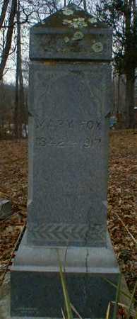 FOX, MARY - Gallia County, Ohio | MARY FOX - Ohio Gravestone Photos