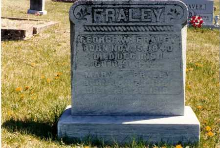 FRALEY, GEORGE - Gallia County, Ohio | GEORGE FRALEY - Ohio Gravestone Photos