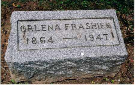 YEAUGER FRASHIER, ORLENA - Gallia County, Ohio | ORLENA YEAUGER FRASHIER - Ohio Gravestone Photos