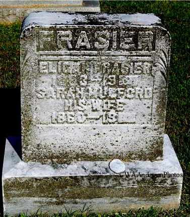 MULFORD FRASIER, SARAH - Gallia County, Ohio | SARAH MULFORD FRASIER - Ohio Gravestone Photos