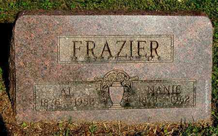 FRAZIER, AL - Gallia County, Ohio | AL FRAZIER - Ohio Gravestone Photos