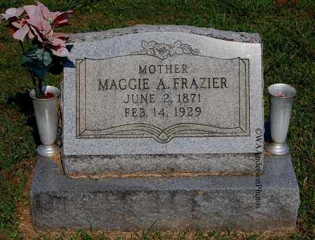 WARNER FRAZIER, MAGGIE A - Gallia County, Ohio | MAGGIE A WARNER FRAZIER - Ohio Gravestone Photos