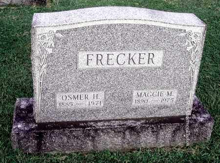 FRECKER, MAGGIE M - Gallia County, Ohio | MAGGIE M FRECKER - Ohio Gravestone Photos