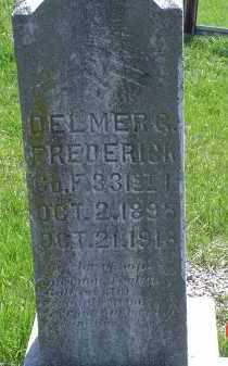 FREDERICK, DELMER G. - Gallia County, Ohio | DELMER G. FREDERICK - Ohio Gravestone Photos