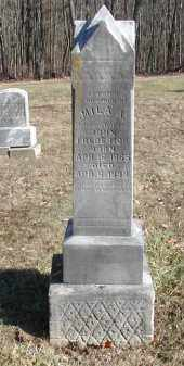 FREDERICK, MILA A. - Gallia County, Ohio | MILA A. FREDERICK - Ohio Gravestone Photos