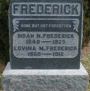FREDERICK, NOAH - Gallia County, Ohio | NOAH FREDERICK - Ohio Gravestone Photos