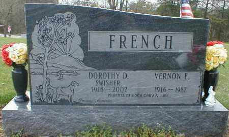 FRENCH, VERNON - Gallia County, Ohio | VERNON FRENCH - Ohio Gravestone Photos