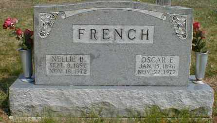 FRENCH, NELLIE - Gallia County, Ohio | NELLIE FRENCH - Ohio Gravestone Photos
