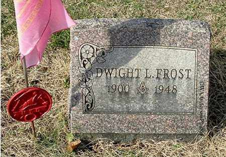 FROST, DWIGHT L - Gallia County, Ohio | DWIGHT L FROST - Ohio Gravestone Photos