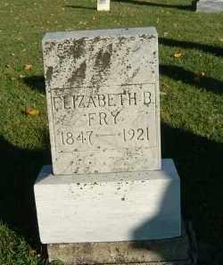 FRY, ELIZABETH B. - Gallia County, Ohio | ELIZABETH B. FRY - Ohio Gravestone Photos