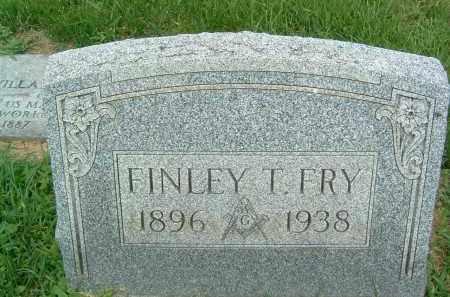 FRY, FINLEY T. - Gallia County, Ohio | FINLEY T. FRY - Ohio Gravestone Photos