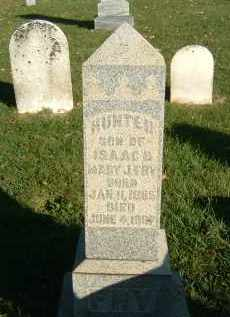 FRY, HUNTER - Gallia County, Ohio   HUNTER FRY - Ohio Gravestone Photos