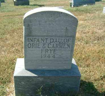 FRY, INFANT DAUGHTER - Gallia County, Ohio | INFANT DAUGHTER FRY - Ohio Gravestone Photos
