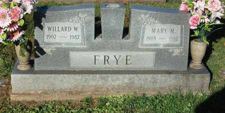 FRYE, MARY M. - Gallia County, Ohio | MARY M. FRYE - Ohio Gravestone Photos
