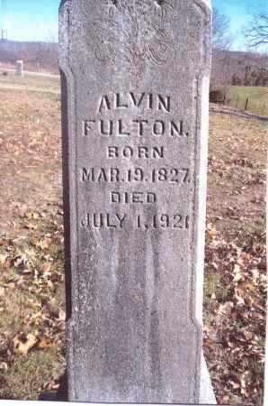 FULTON, ALVIN - Gallia County, Ohio | ALVIN FULTON - Ohio Gravestone Photos
