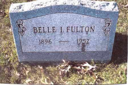 FULTON, BELLE I. - Gallia County, Ohio | BELLE I. FULTON - Ohio Gravestone Photos
