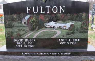 FULTON, DAVID HUBER - Gallia County, Ohio | DAVID HUBER FULTON - Ohio Gravestone Photos