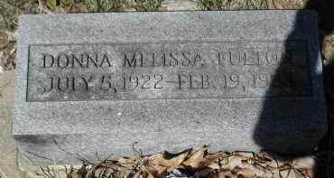 FULTON, DONNA - Gallia County, Ohio | DONNA FULTON - Ohio Gravestone Photos