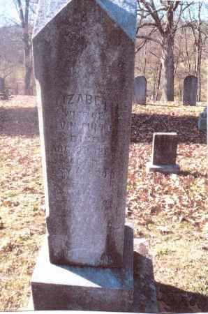 FULTON, ELIZABETH - Gallia County, Ohio | ELIZABETH FULTON - Ohio Gravestone Photos