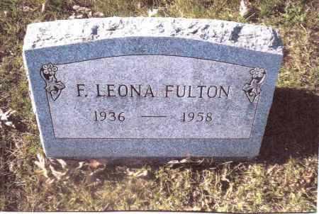 FULTON, E. LEONA - Gallia County, Ohio | E. LEONA FULTON - Ohio Gravestone Photos