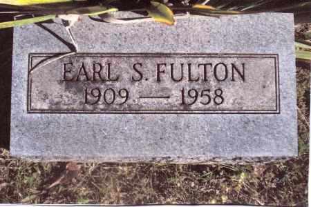 FULTON, EARL S. - Gallia County, Ohio | EARL S. FULTON - Ohio Gravestone Photos
