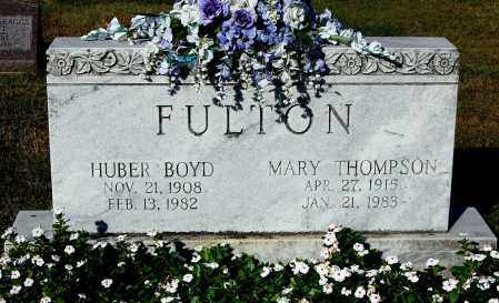 FULTON, HUBER BOYD - Gallia County, Ohio | HUBER BOYD FULTON - Ohio Gravestone Photos