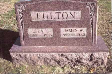 FULTON, JAMES W. - Gallia County, Ohio | JAMES W. FULTON - Ohio Gravestone Photos