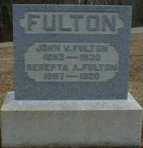 MINK FULTON, SEREPTA - Gallia County, Ohio | SEREPTA MINK FULTON - Ohio Gravestone Photos