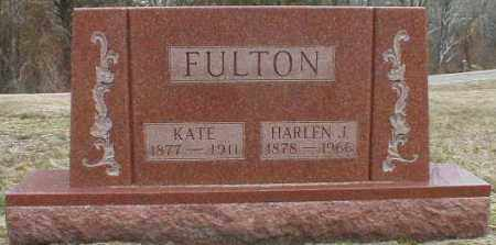 FURST FULTON, KATE - Gallia County, Ohio | KATE FURST FULTON - Ohio Gravestone Photos