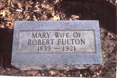 FULTON, MARY - Gallia County, Ohio | MARY FULTON - Ohio Gravestone Photos