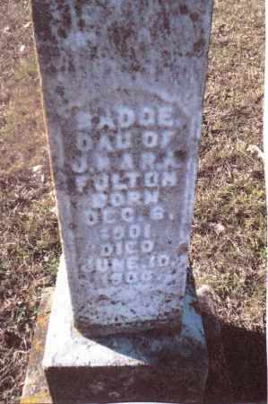 FULTON, MADGE - Gallia County, Ohio | MADGE FULTON - Ohio Gravestone Photos
