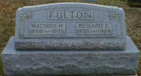 FULTON, RICHARD - Gallia County, Ohio | RICHARD FULTON - Ohio Gravestone Photos