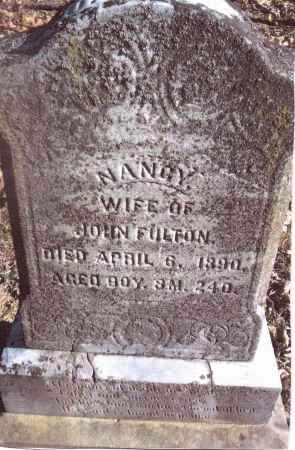 FULTON, NANCY - Gallia County, Ohio | NANCY FULTON - Ohio Gravestone Photos