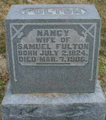 MALABY FULTON, NANCY - Gallia County, Ohio | NANCY MALABY FULTON - Ohio Gravestone Photos