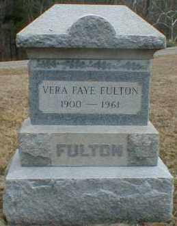 FULTON, VERA - Gallia County, Ohio | VERA FULTON - Ohio Gravestone Photos