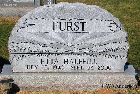 FURST, ETTA - Gallia County, Ohio | ETTA FURST - Ohio Gravestone Photos