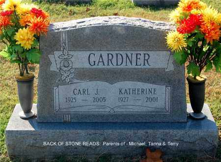 GARDNER, CARL J. - Gallia County, Ohio | CARL J. GARDNER - Ohio Gravestone Photos
