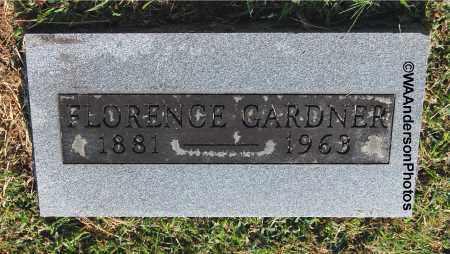 GARDNER, FLORENCE - Gallia County, Ohio | FLORENCE GARDNER - Ohio Gravestone Photos