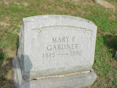 GARDNER, MARY P. - Gallia County, Ohio | MARY P. GARDNER - Ohio Gravestone Photos